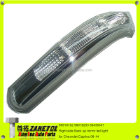 96818102 96818253 96439547 Right side Back up mirror led light for Chevrolet Captiva 06-14