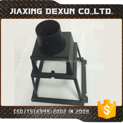 according to drawings custom made aluminum die casting part lamp shell