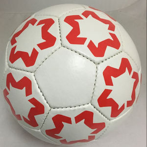no any logo soccer ball size 5 Hand sewing pu material custom print your own design soccer ball