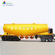 2018 trailer manufacturer 3 Axles 45cbm dry powder material transport feed Bulk Carrier New 40ton Cement Tanker Semi Trailer