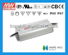 MEANWELL HLG-320H-54 320W 54V Single Output CE CB UL IP65/67 RoHS Switching Mode Power Supply Waterproof DIMMING LED Driver