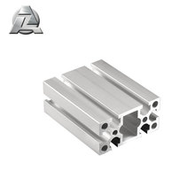 4080HD silver 8 TYP aluminum extrusion cnc t slot rail for Machine Guarding