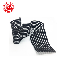 Striped Woven Textile Fabric Customized Breathable Orthodontic Elastic Band for Medical Care Elastic Belt