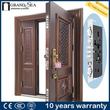 Cheap price superior A class locksystem arch shaped door design