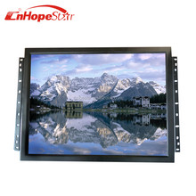 Metal Case Open Frame VGA Square Screen 17inch Frameless LCD Monitor