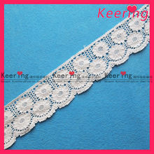 bulk sale dyeable cotton lace trim WLC-090