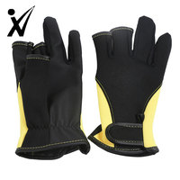 Personalized Outdoor Equipment Camping Riding Hiking Waterproof Neoprene Fishing Safety Gloves