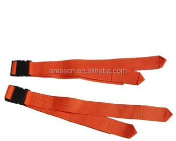Medical Emergency Metal HookStrap Stretchers Belt Spine Board Set