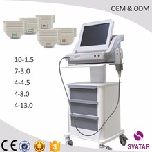 HIFU focused ultrasound professional skin tightening/face lift/body slimming beauty machine