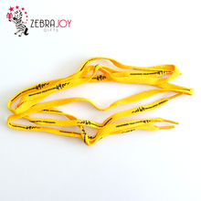 Logo printed rope custom shoe laces elastic shoelaces shoelace