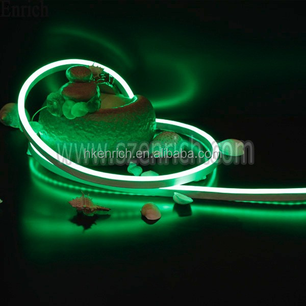 blue color led neon rope light ultra slim size to make logo sign