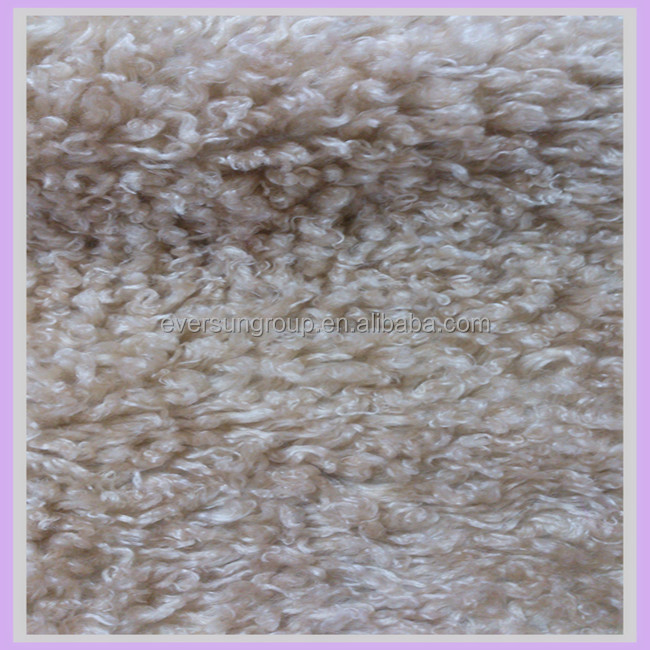 artificial wool fabric shearling fabric