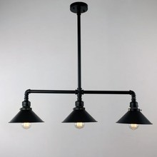 Billiards Lamp 3 Lamp Pendant Ceiling Light Shade Industrial Hanging Light Fixture