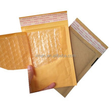 XiMan wholesale customized printed bubble mailers tear proof padded kraft paper mailer jiffy bags/ bubble envelope
