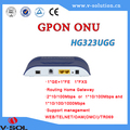 Fiber optical network GPON Routing ONU 1GE+1FE+1POTS management WEB