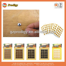adhesive plastic nail cover, screw hole cover