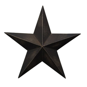 Metal Wall Decor Plaque Barn Star 11""