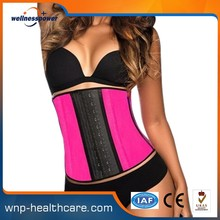 Top seller high quality cheap factory prices shaper corset wholesale Strong Hooks waist trainer corset