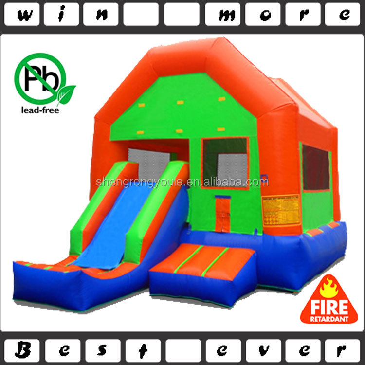 EN 14960 pvc inflatable jump castle combo, used commercial jumping castles with prices for sale