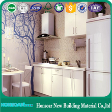 Raised Door Type Ready Made Modular Kitchen Cabinets Design
