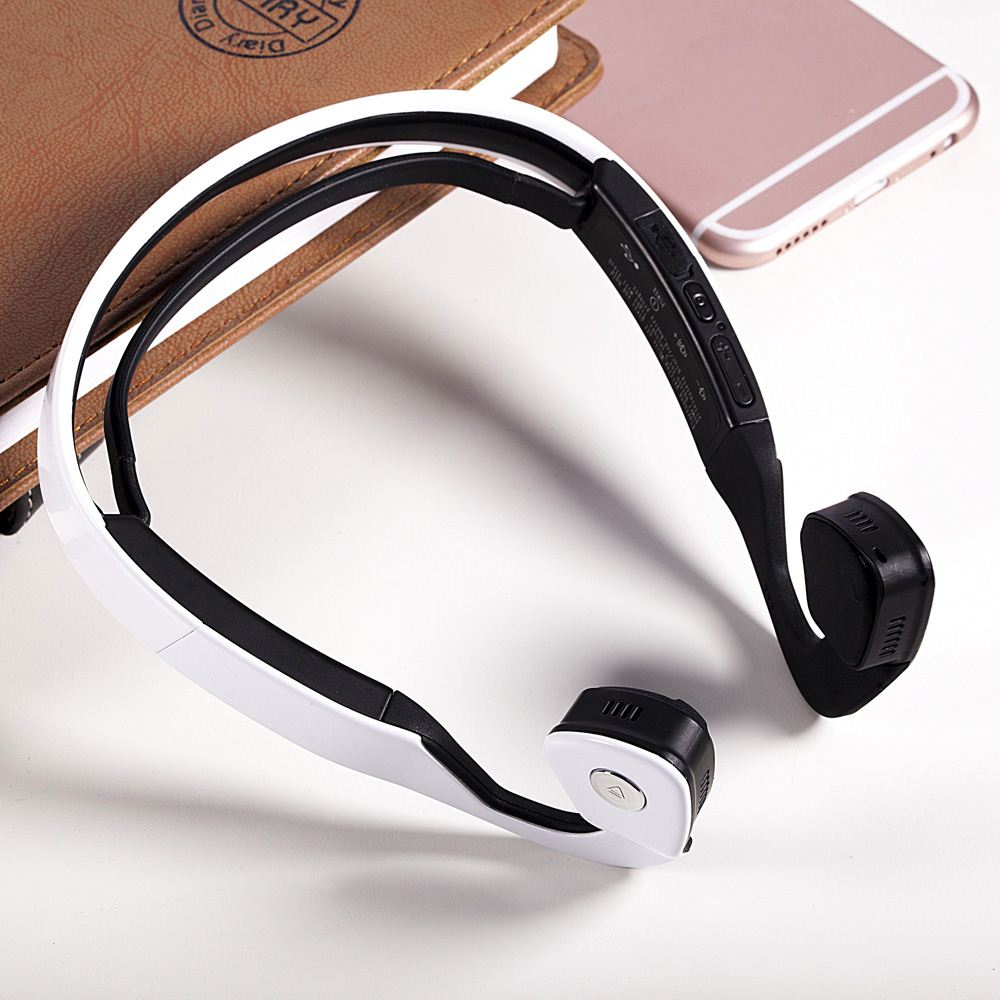 S.Wear Bluetooth Bone Conduction Headphone Ergonomic HiFi Sports Earphone Noise Isolating Handfree Headset for Smartphone Tablet