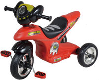 red motor tricycle modeling kids running bike 17719A