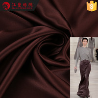 G1 Solid Color 16mm Crepe Satin Plain 100% Mulberry Silk Fabric