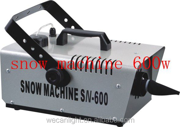 CE RoHs Certified Stage Light small Snow Foam Machines For Hot Sale