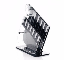 Acrylic Knife Block - Organizer And Storage (Without Knives)