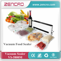 Portable vacuum packing machine, bag sealer for home, household food vacuum sealer