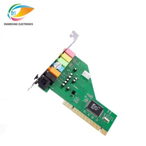 pci sound card 7.1 Channel 3D Audio Card sound card with C-MEDIA 87368 Chipset