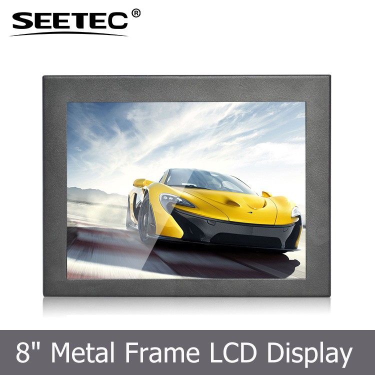 IPS Panel 8 inch LCD Touch screen digital signage media advertising player