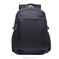 15 inch custom business waterproof oxford black school laptop backpack for teenage