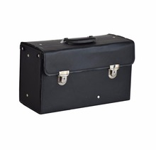 portable PU leather Suitcase for hairdresser