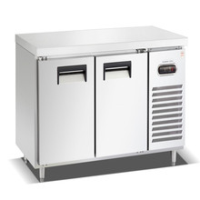 Good finishing stainless steel air cooling commercial kitchen refrigerator counter