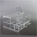 Plexiglass Dental Swab Dispenser Acrylic Display Rack for Dental Dental Acrylic Organizer
