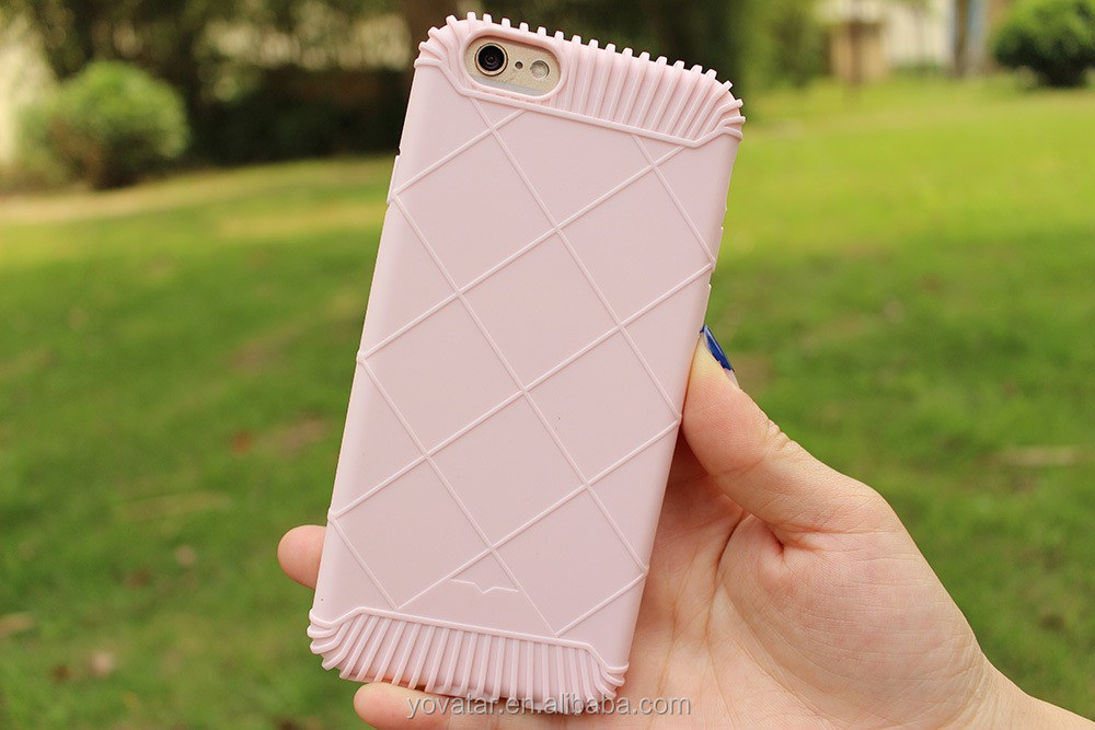 2017 Newest Candy Color Diamond Lattice TPU Soft Summer Case for iPhone 6/6s , Mobile Phone Case for iPhone 6/6s