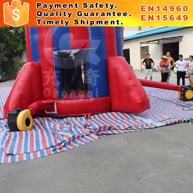 High quality inflatable rocket parachute games for sale
