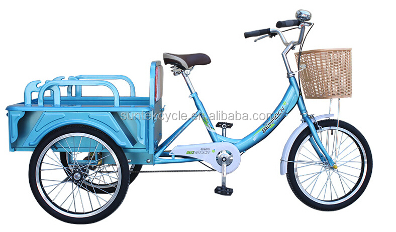2016 three wheel bicycle for adults / tricycle bike