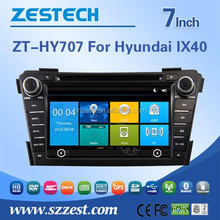 car dvd gps navigation for Hyundai i40 car dvd gps navigation system with bluetooth 3G wifi DVR DVB-T TMC optional