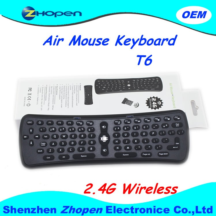 fly air mouse with keyboard and bluetooth and remote