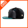 2016 OEM custom blank leather snapback cap in good quality