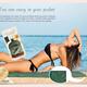 China manufacturer 100%polyester picnic moving beach pocket blanket