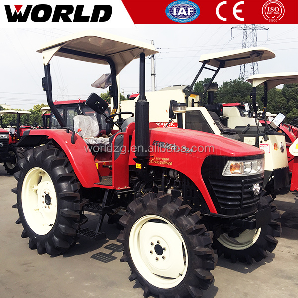 Changchai engine 70HP 4x4 kubota tractor prices with rotary tiller