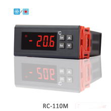 RINGDER RC-212M Digital Cooling Heat Defrost Temperature Controller with Sensor 230V 110V