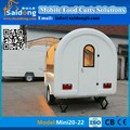 CE Approved Customized Fast Food Cart/BBQ Trailer mobile snack food trailer