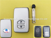 Excellent quality Toyota 2 buttons smart key remote cover blank