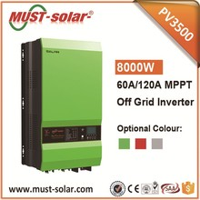 <MUST SOLAR> PV35-10K Pure Sine Wave Low Frequency 12kw 48v rechargeable battery inverter
