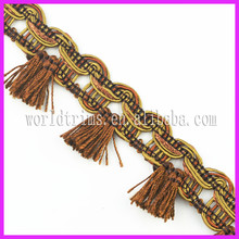 World trims wholesale cord area rugs fringe WTA204