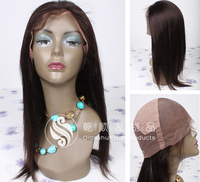 New Style Top Fashion 8-30 Inch Natural Color Brazilian Straight Human Hair Full Lace Wig